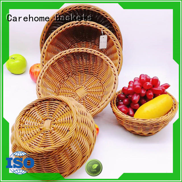 Carehome lovely bakery display baskets wholesale for shop