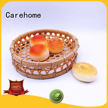 Carehome foodclass Bamboo Basket for shop