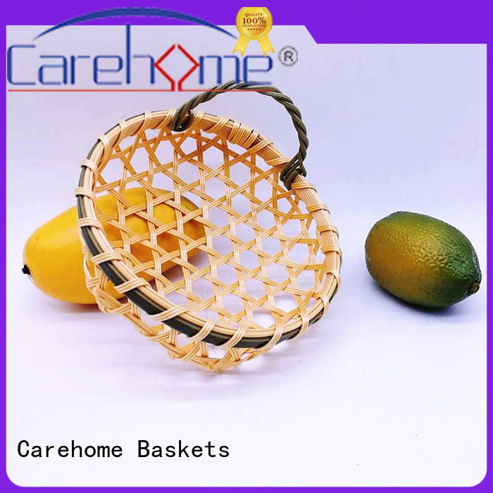 Carehome custom large wicker baskets popular for shop