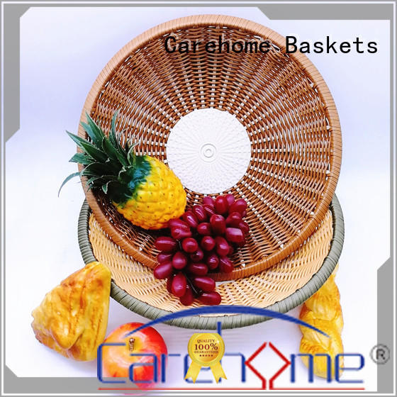 Carehome washable Bamboo Basket food for market