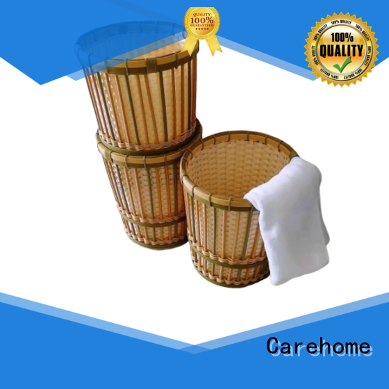 Carehome other white bamboo basket with high quality for market