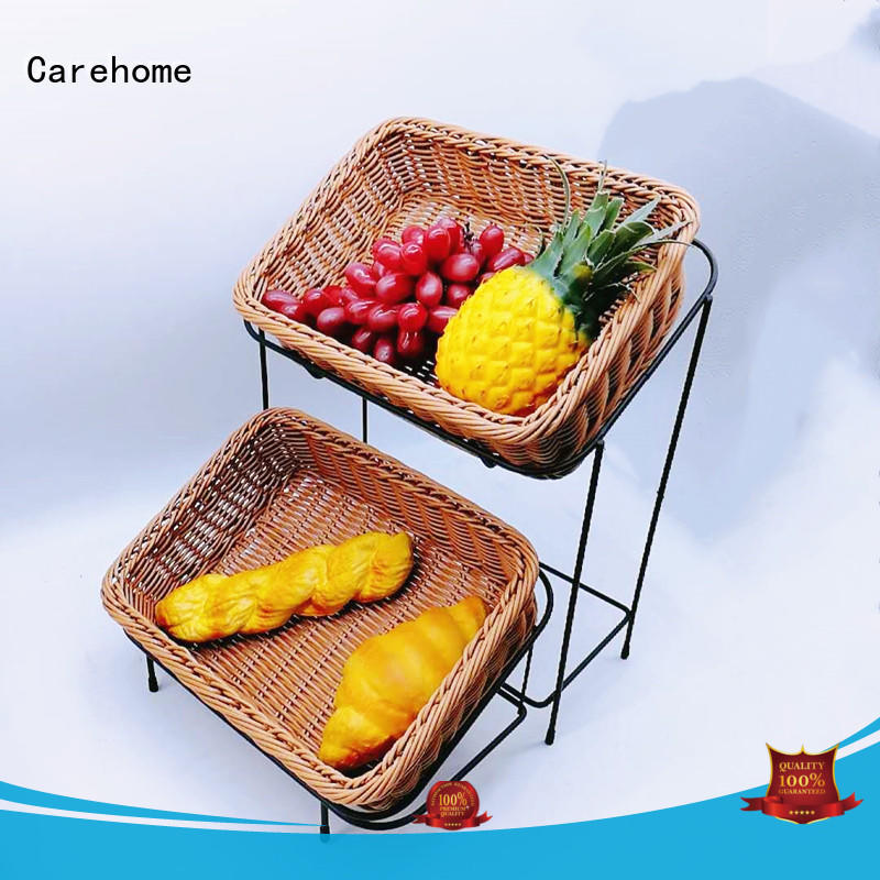 plastic wicker carry basket basin for supermarket Carehome