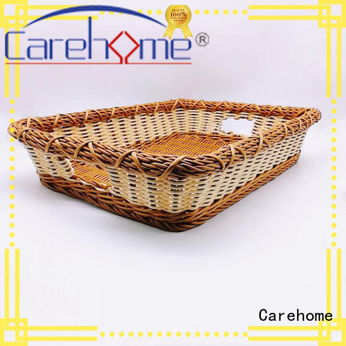 Carehome handmade towel basket with high quality for market