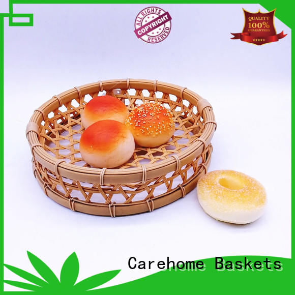 round Bamboo Basket rattan for shop