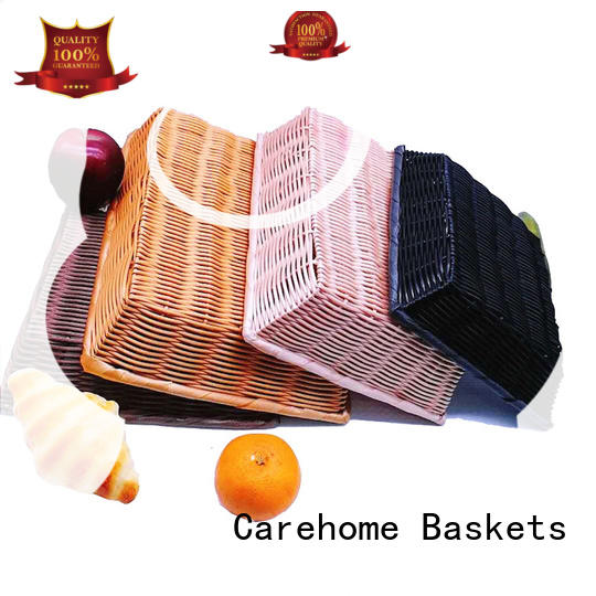 handmade wicker bread basket foldable manufacturer for market