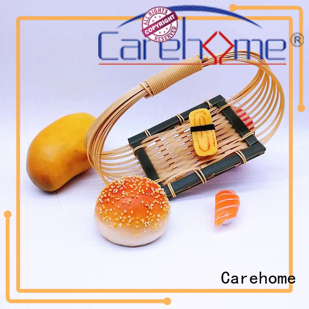 Carehome graceful Bamboo Basket with high quality for market