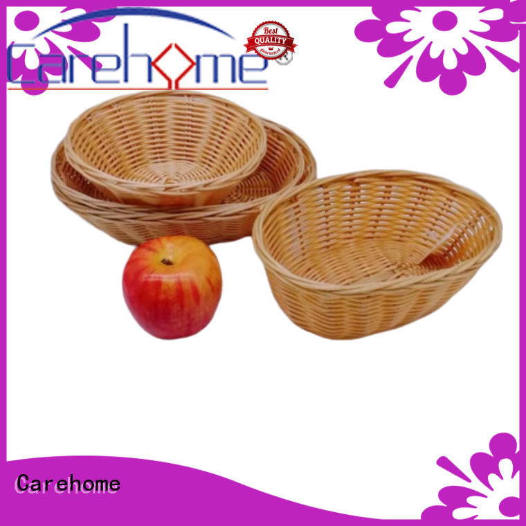 plastic wicker storage baskets for shelves lb1024 supplier for market