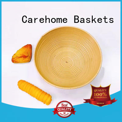 Carehome natural wooden bread basket with high quality for family