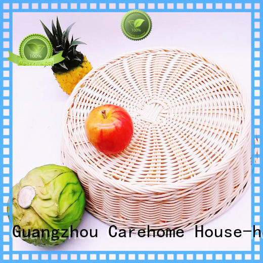 foldable wicker baskets kitchen hand with certificates for market
