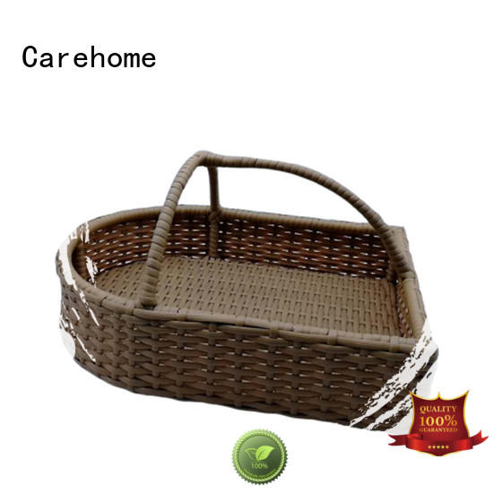 Carehome flat wicker picnic basket for laundry hotel