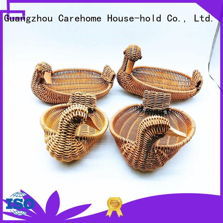 Carehome pp wicker gift baskets manufacturer for shop