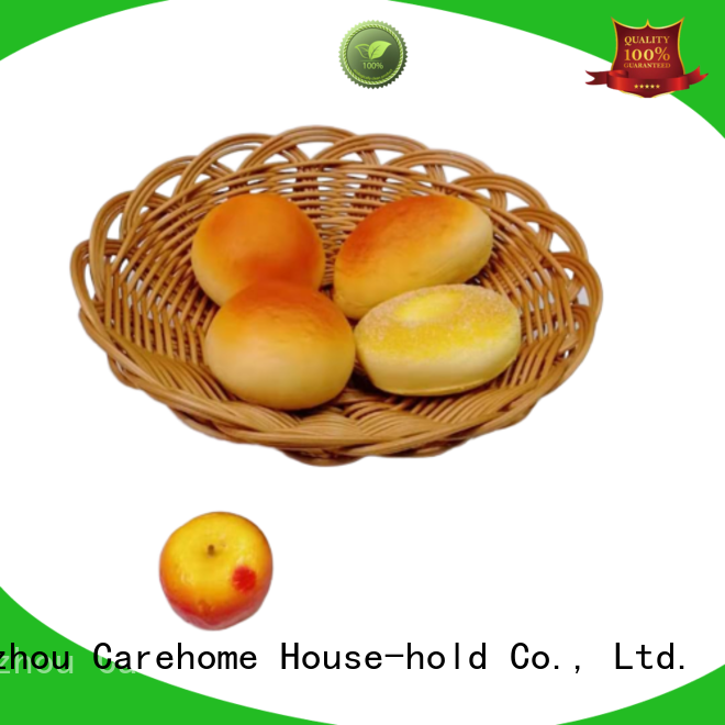 non-toxic wicker baskets kitchen bamboo supplier for market