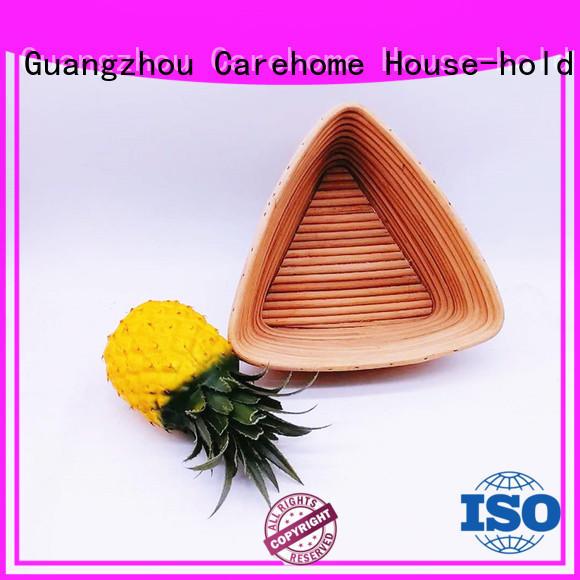 Carehome lovely wooden bread basket supplier for shop