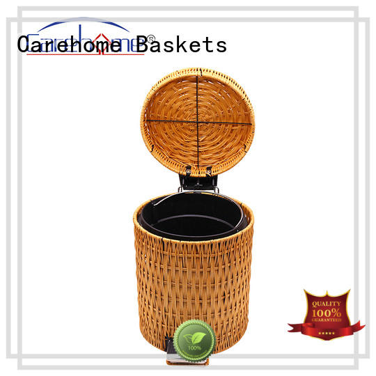 Carehome handmade bamboo bread basket supplier for market
