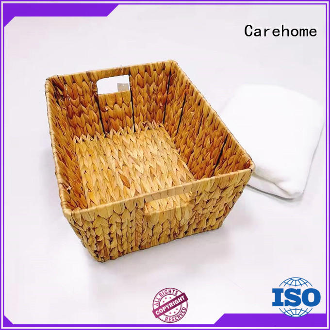 Carehome mothproof woven grass basket supplier for sale
