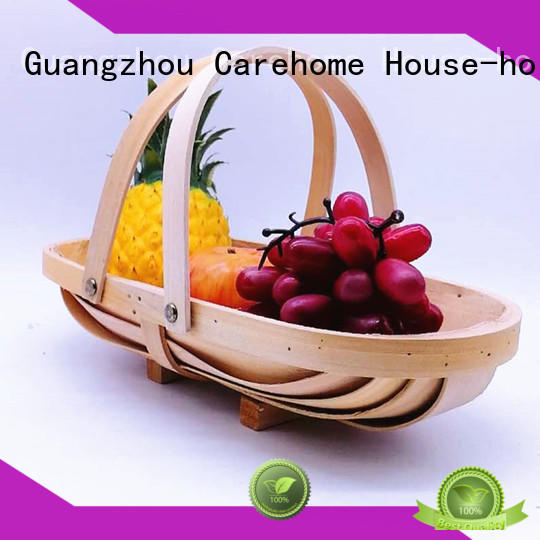 Carehome cotton fruit gift baskets with high quality for supermarket