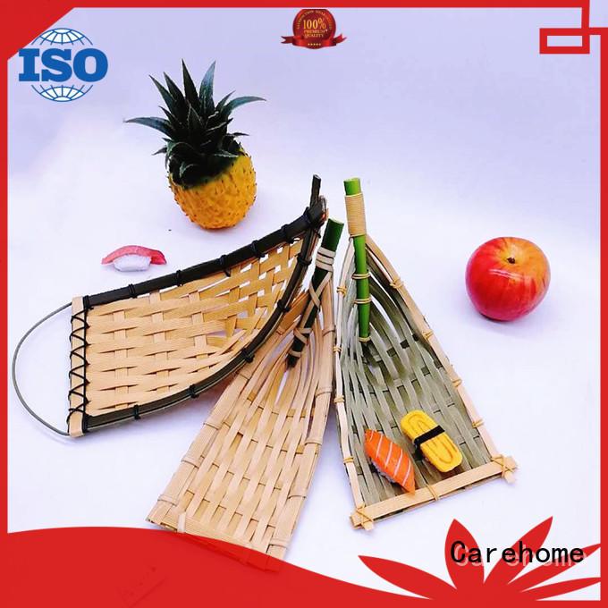 Carehome polypropylene Bamboo Basket on sale for market