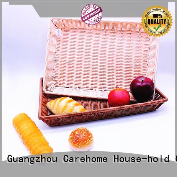 Carehome foldable wooden bread basket supplier for supermarket