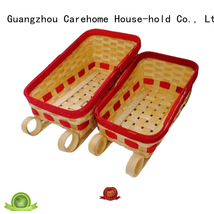 Carehome durable wicker gift baskets supplier for sale