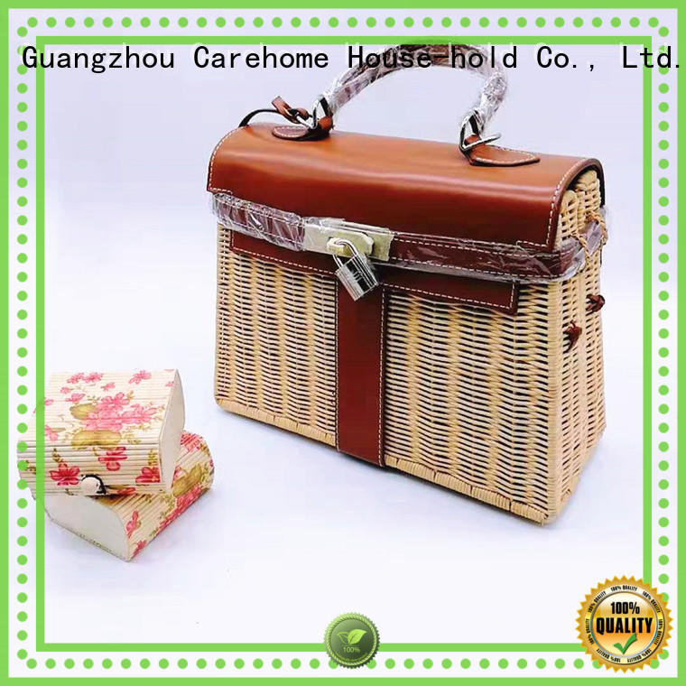 Carehome durable wicker gift baskets with high quality for shop