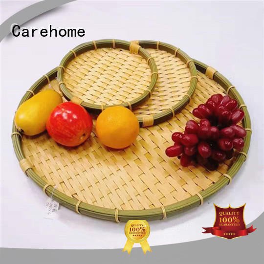 graceful Bamboo Basket foodclass with high quality for supermarket