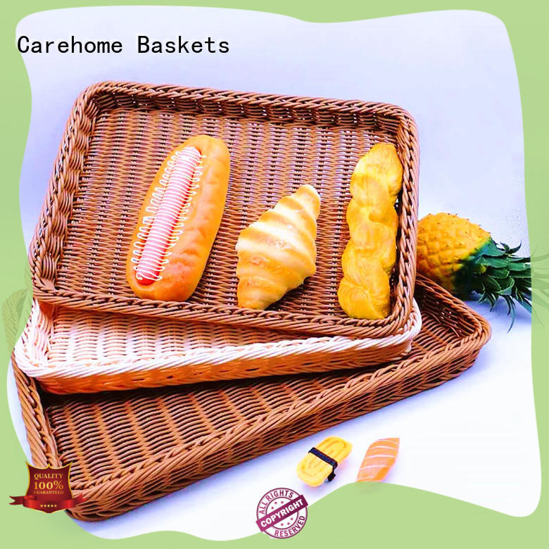Carehome heated wooden bread basket for picnic party for market
