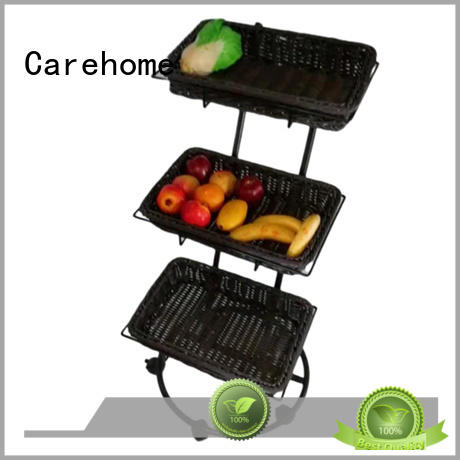 Carehome tray shopping wicker basket manufacturer for market
