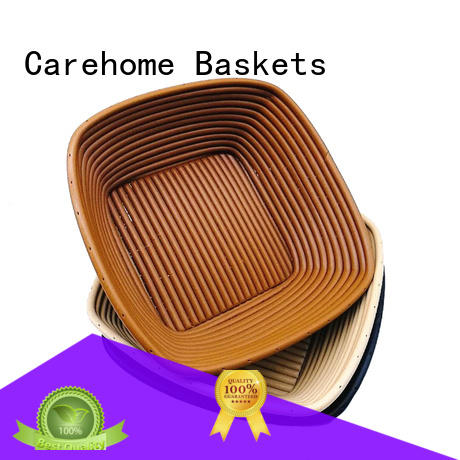 Carehome hollow bamboo bread basket with high quality for family