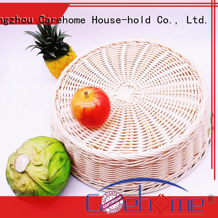plastic storage baskets imitation for family Carehome