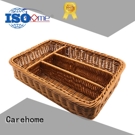 Carehome rounded restaurant basket with certificates for family