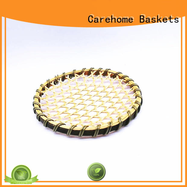 Carehome material bamboo basket storage ecofriendly for family