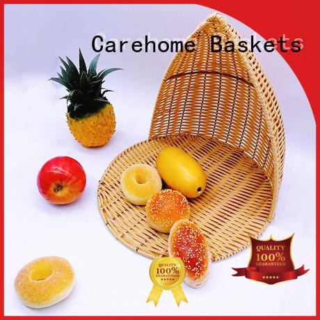 Carehome durable wicker gift baskets with high quality for sale
