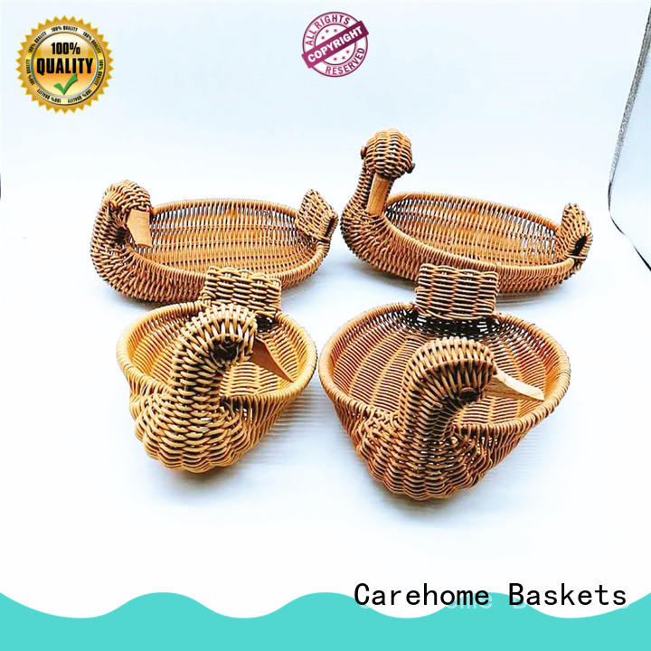 Carehome hand wicker gift baskets supplier for shop