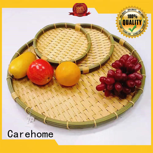 round woven polypropylene baskets using easy to clean for supermarket